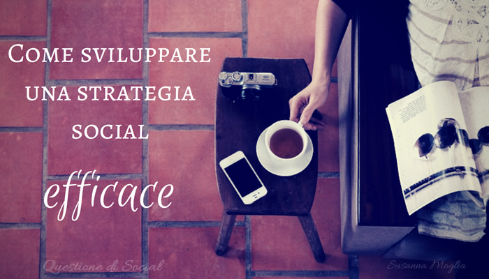 strategia social efficace copertina l