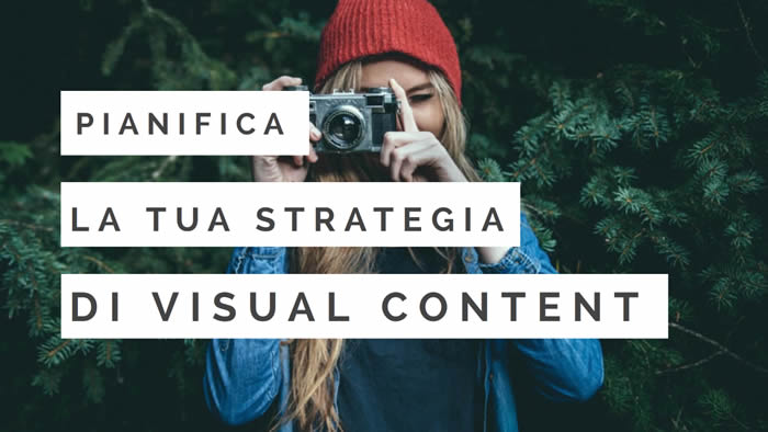 contenuti visual plan